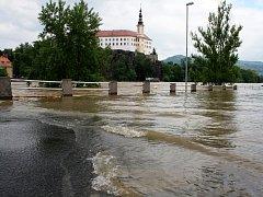 Povodně 2013. Ilustrační foto.