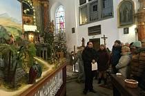 Výstava betlémů v kostele sv. Mikuláše.