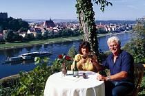 Pohled na město Pirna.