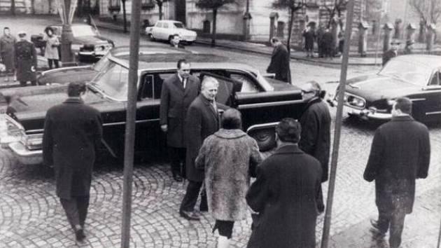 Prezident Antonín Novotný navštívil v roce 1967 Varnsdorf, kde se zúčastnil slavnostního otevření hraničního přechodu do tehdejší Německé demokratické republiky.