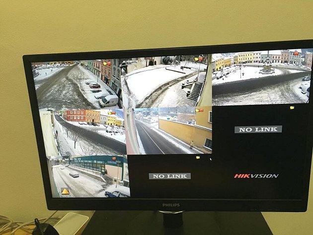 Kamerový systém v Benešově nad Ploučnicí.