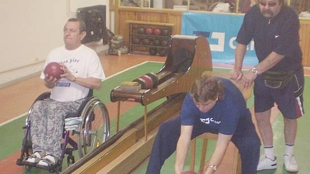 Lidé s postižením si opět s chutí zasportovali.