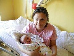 Lence Kalivodové z Děčína se 21. června v 08:20 v děčínské porodnici narodila dcera Berta. Měřila 51 cm a vážila 3,8 kg.