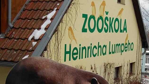 Heinrich Lumpe má v ústecké Zoo i zooškolu.