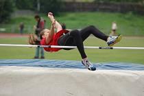 KRAJSKÉ PŘEBORY v atletice mládeže se konaly v Děčíně.