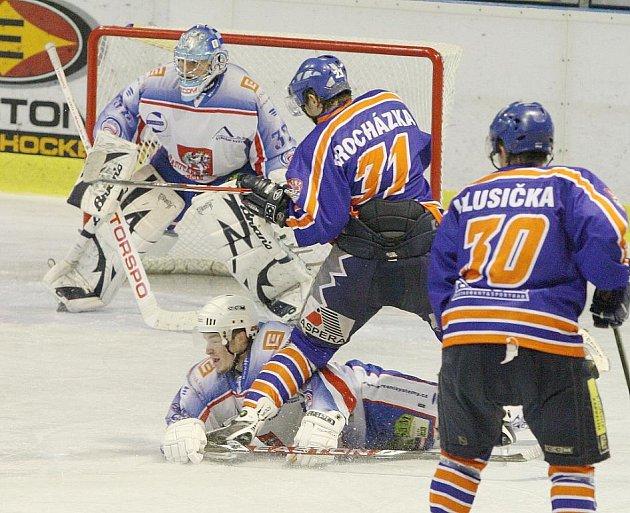 V domácí přípravné premiéře prohrál HC Děčín vysoko s Litoměřicemi.