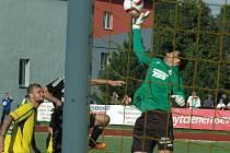MIROSLAV SAMOEL vychytal druhé čisté konto v sezóně.