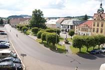 Šluknovské náměstí.