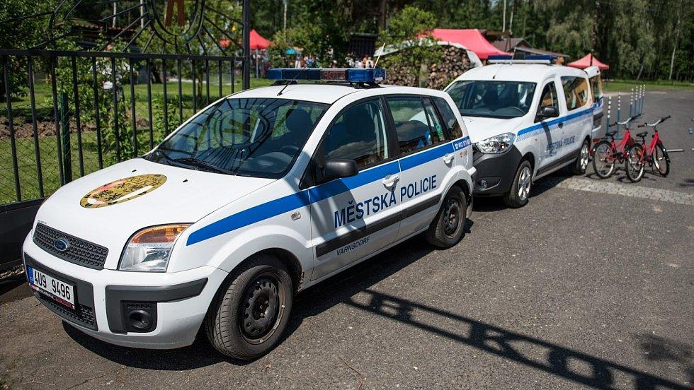 Městská policie Varnsdorf, ilustrační foto.
