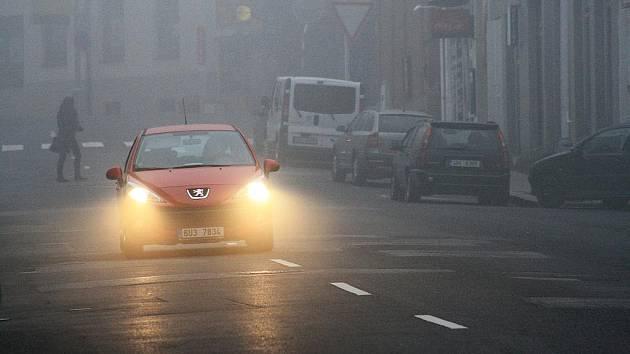 Smog přidusil také Děčín