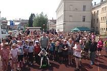 Učitelé ze ZŠ a MŠ TGM Česká Kamenice zorganizovali pro všechny třídy školy i školky akci na školním hřišti.