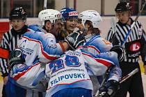 Hokejisté Děčína nezastavil ani druhý Most, Děčín vyhrál 7:3.
