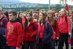 Oslavy 120 let děčínského gymnázia začaly v pátek Nemajálesem