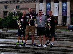 SILÁCI z OST Varnsdorf zářili na Mistrovství Evropy.