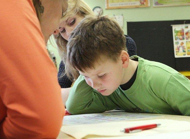 Děti se do školy těší