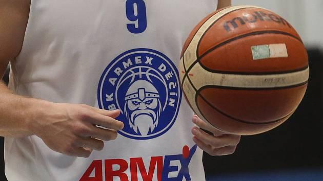 Ilustrační snímek. Basketbal Děčín.