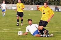 Třemi góly se blýskl Kurel.