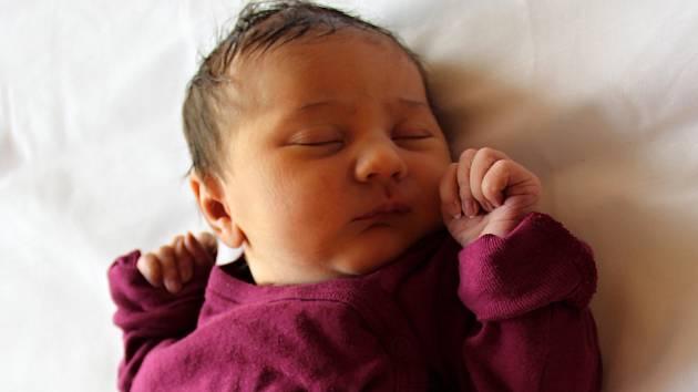 Rozálie Adámková se narodila Ivaně a Danielu Adámkovým z Františkova nad Ploučnicí 1. ledna v 1.26 v kadaňské porodnici. Vážila 3,3 kg.