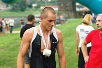 NOVÝ triatlonový klub pod názvem Triade vznikl v Děčíně. Jedním z úspěšných závodníků je i Petr Rouček (na snímku), který se stal Železným knedlíkem pro rok 2011.