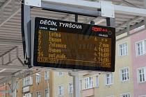 Chytrá zastávka v Děčíně.