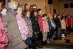 Koncert pro těžce nemocnou Dorotku v Děčíně