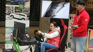 V Pivovaru je možné si vyzkoušet simulátor auta pro vozíčkáře