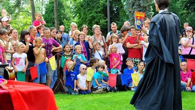 Městské slavnosti v Rumburku.