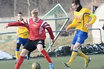 SEMIFINÁLE ZIMNÍ LIGY. Mladší dorost: FK Varnsdorf - Junior Děčín 6:1.