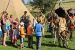 Indiánská vesnička Rosehill nabízí prohlídky i divadlo