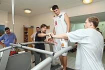 Děčínští basketbalisté na zátěžových testech v Ústí nad Labem