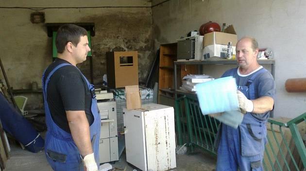Oprava hasičárny v Kytlicích