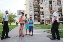 Asistenti prevence kriminality v Boleticích.