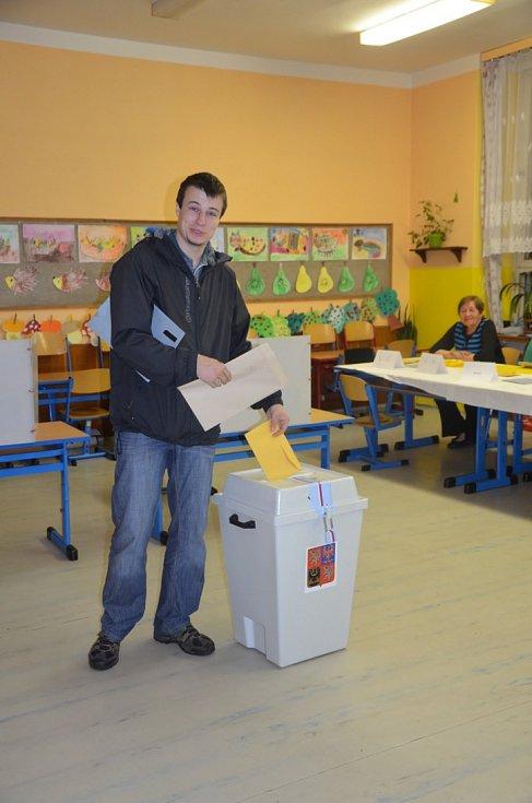 Volby 2014 v Želenicích.