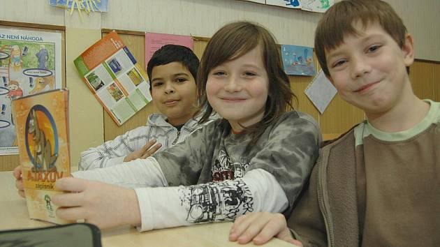 Děti ve třídě. Ilustrační foto.