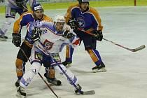 Děčínští hokejisté na ledě vedoucího celku neuspěli.
