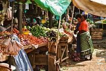 Africké trhy, ilustrační fotografie