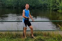 Tomáš Křeček, fotbalový rozhodčí, kterého například baví triatlon.