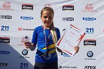 Adéla Trojanová vybojovala celkové vítězství v ČP.