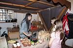 Vánoční výzdoba - v takovém duchu se nesla první adventní neděle ve Šluknově.