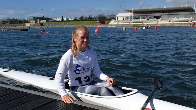 PARÁDNÍ ÚSPĚCH. Děčínská kajakářka Adéla Házová se postarala v Barceloně o senzaci. Mladá závodnice si na 99% vyjela účast na Olympiádě mládeže.