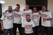 DĚČÍNSKÁ STOPA pomohl týmu Jelínek k vítězství na turnaji starých gard.