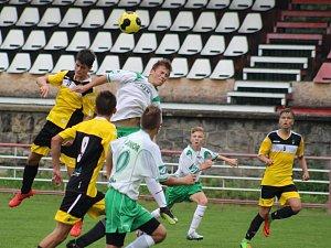 Sport fotbal Česká divize dorost J. Děčín - Roudnice