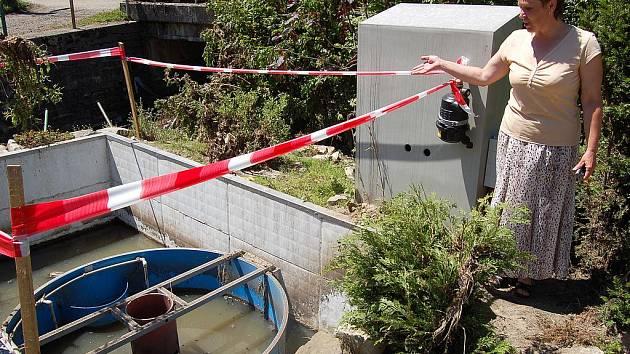 Obecní čističku odpadních vod v Kunraticích zlikvidovala velká voda, která se obcí prohnala na začátku června letošního roku.