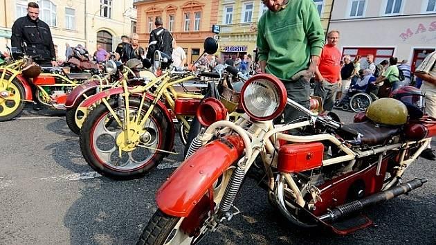 XV. jubilejní sraz motocyklů Čechie-Böhmerland