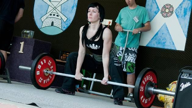 NĚŽNÉ POHLAVÍ. Kateřina Batelková si vytvořila nový osobní rekord.
