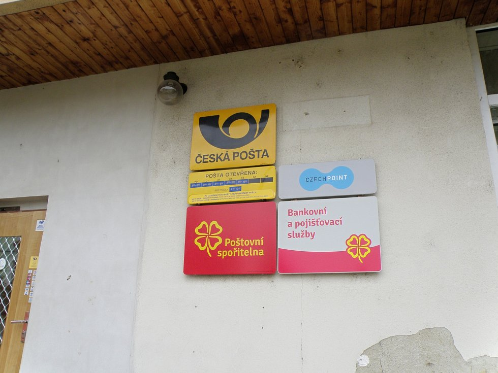 Přepadená pošta v Děčíně - Boleticích