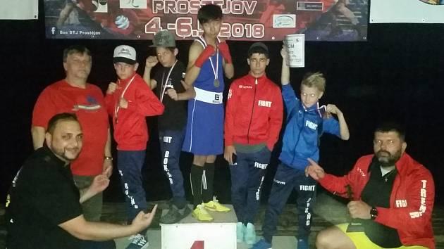 ÚSPĚŠNÁ VÝPRAVA oddílu Box Fighting Club Mikulášovice.