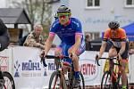 Ondřej Petr ještě v barvách týmu Team Cyklotrener Varnsdorf.