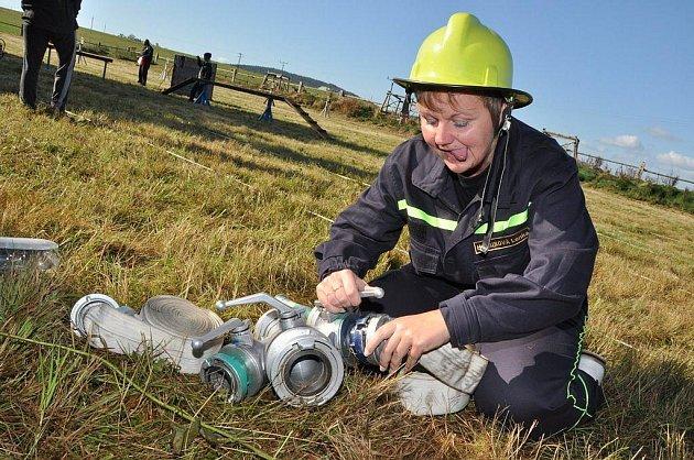 Pětadvacátý ročník Memoriálu Standy Matyáše, hasičské soutěže dětských družstev, se už tradičně konal na cvičišti v Království.