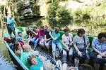 Hřenské soutěsky zavalili turisté z celé Evropy.